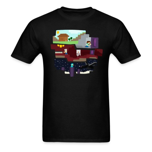 Begining to End png - Men's T-Shirt