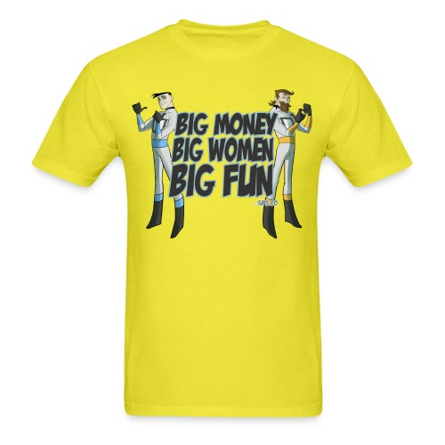 Big Money - Men's T-Shirt
