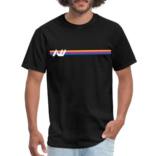 AWJC Media - Future Stripes - Men's T-Shirt