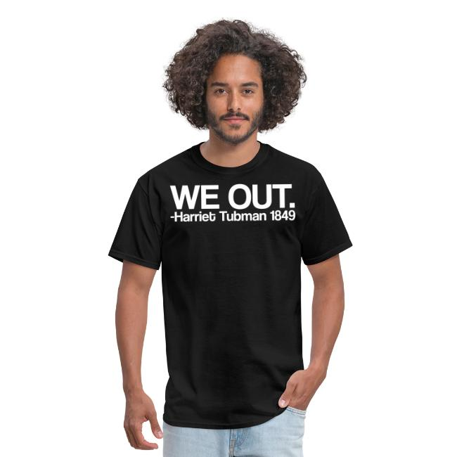 We Out Tee Design WHT