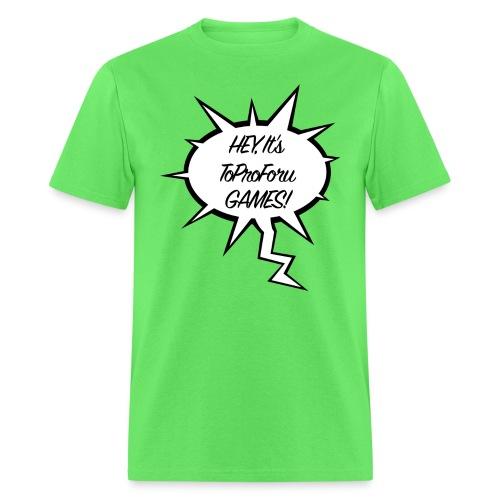 heyitstopro png - Men's T-Shirt