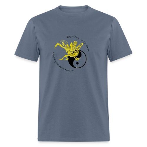 Yellow mantis yin yang - Men's T-Shirt