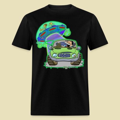 GrisDismation Ongher's UFO Alien Abduction - Men's T-Shirt