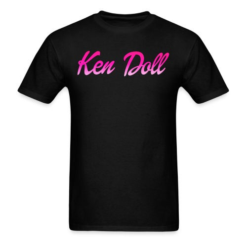 ken doll pink - Men's T-Shirt