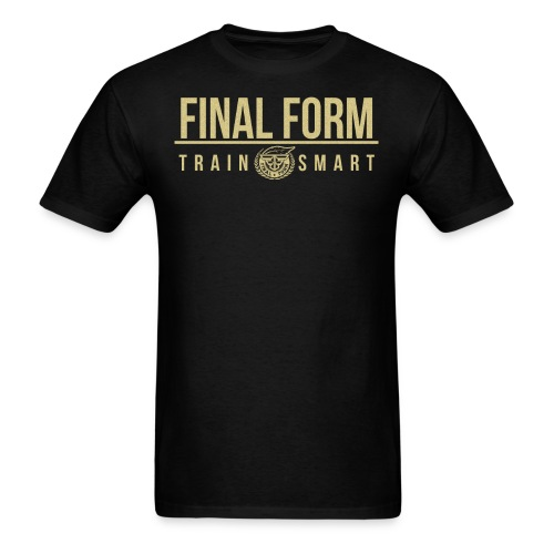 final form logo train smart1 png - Men's T-Shirt