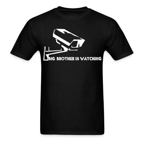 big brother is watching 1 - Men's T-Shirt