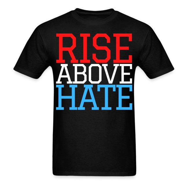 Rise Above Hate - Red, White, and Blue