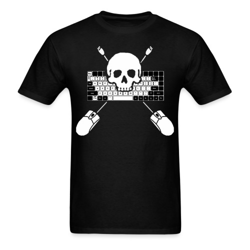 Keyboard Assault - Men's T-Shirt