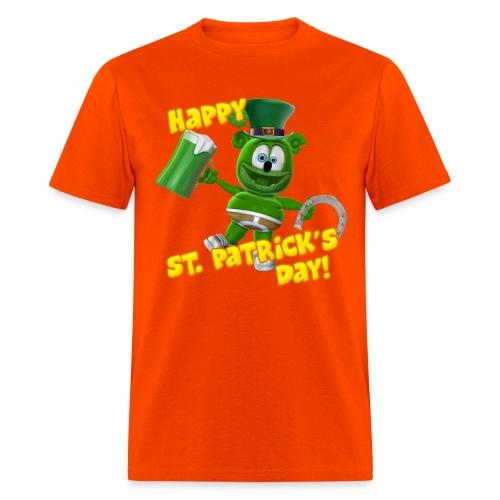Gummibär (The Gummy Bear) Saint Patrick's Day - Men's T-Shirt