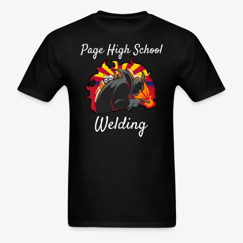 2018 Welding Logo 2 - Men's T-Shirt