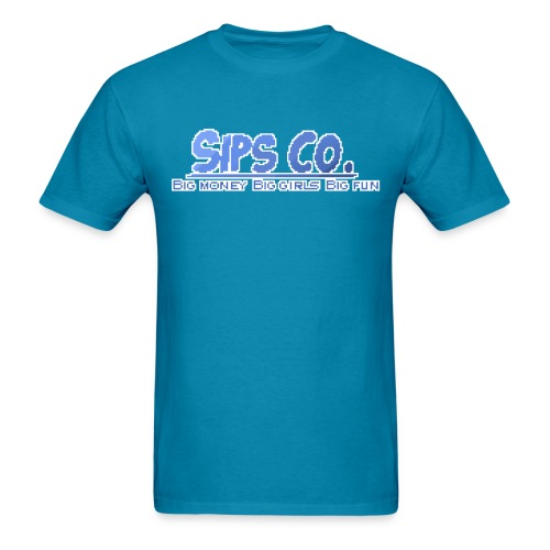 sips co shirt png - Men's T-Shirt