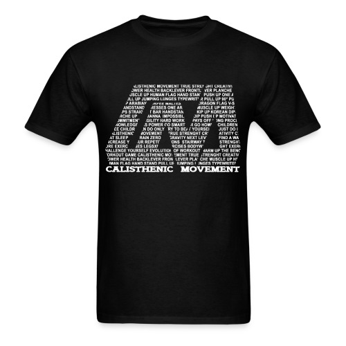 CM Logo from Text white - Men's T-Shirt