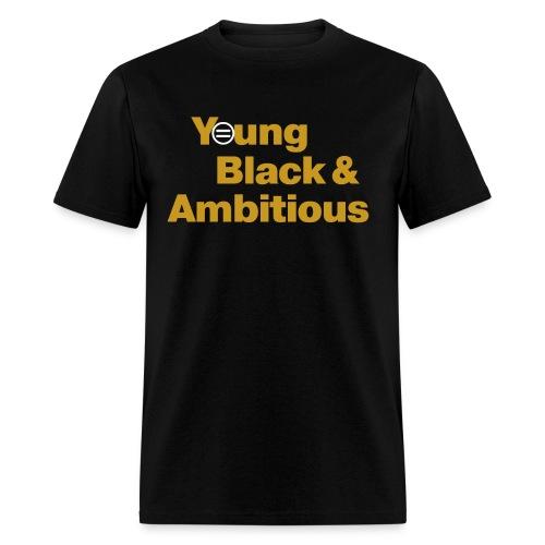 YBA Black and Gold Shirt2 - Men's T-Shirt