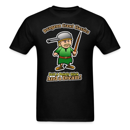 Pointy stick and a dream - Men's T-Shirt