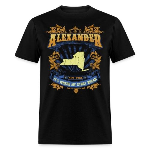 Alexander New York It s my where story began Tee - Men's T-Shirt