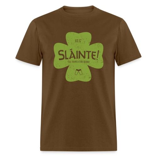 slainte green - Men's T-Shirt