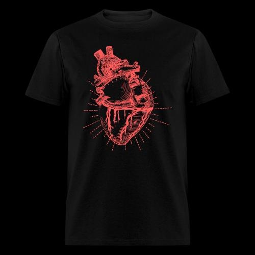 Hand Sketched Heart - Men's T-Shirt