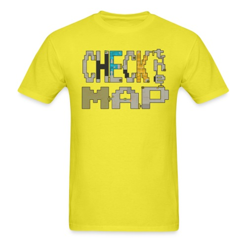 Check the Map - Men's T-Shirt