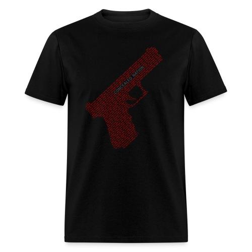 concealednation2ndamendmenttext - Men's T-Shirt