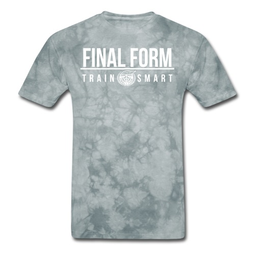final form logo train smart white png - Men's T-Shirt