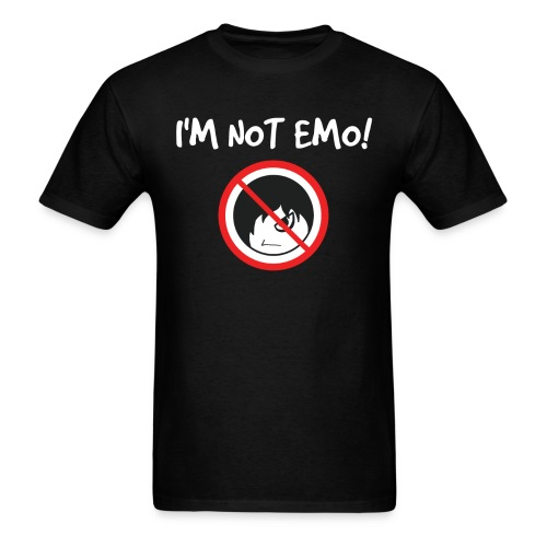 Scene I m Not Emo - Men's T-Shirt