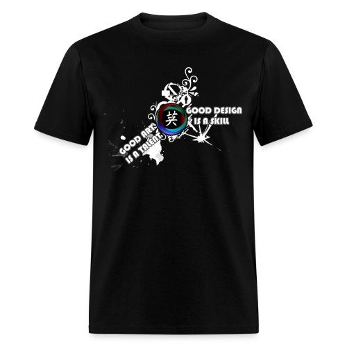 Good Art Good Design - Men's T-Shirt