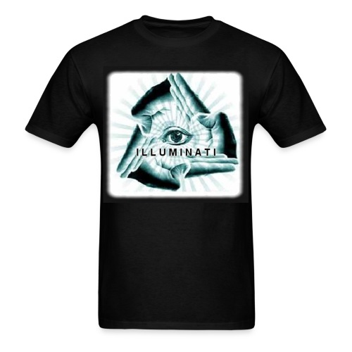 illuminati hands - Men's T-Shirt