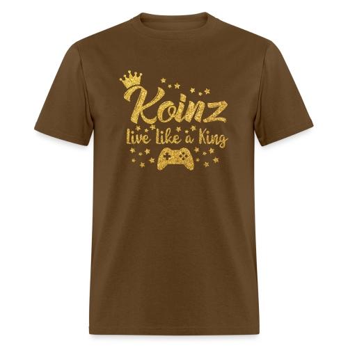 Koinz Sparkly Gold - Men's T-Shirt