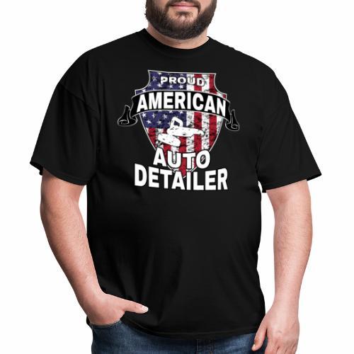 AMERICAN AUTO DETAILER SHIRT   CAR DETAILING - Men's T-Shirt