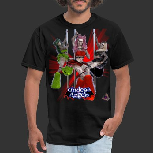 Undead Angels: Pole Dance Trio Spotlight - Men's T-Shirt