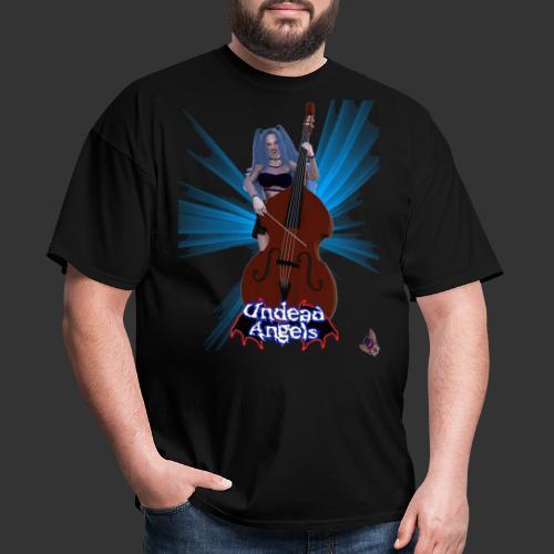 Undead Angels: Vampire Bassist Ashley Spotlight - Men's T-Shirt