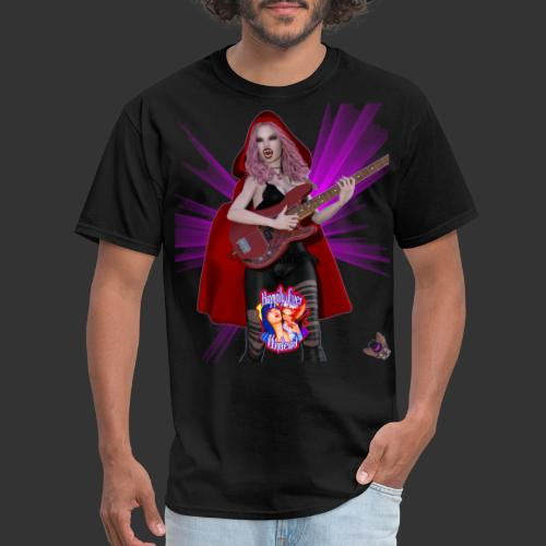 Happily Ever Undead: Blood Red Hood Bassist - Men's T-Shirt