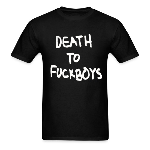 death to fuckboys png - Men's T-Shirt