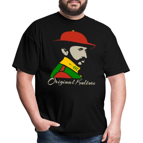 Haile Selassie Rasta Print - Men's T-Shirt
