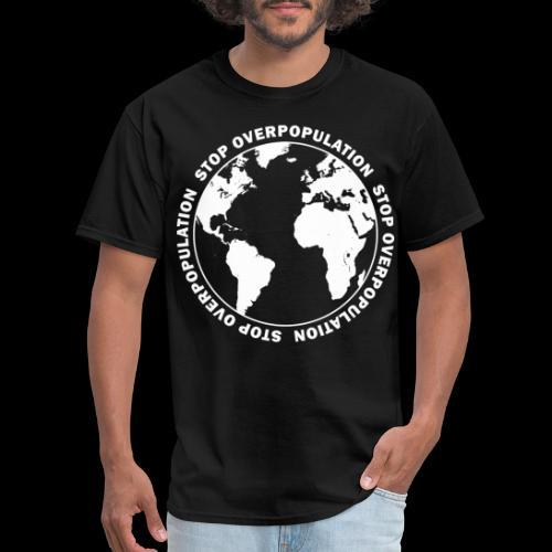 Stop Overpopulation - Men's T-Shirt