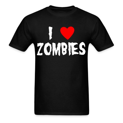 i love zombies - Men's T-Shirt