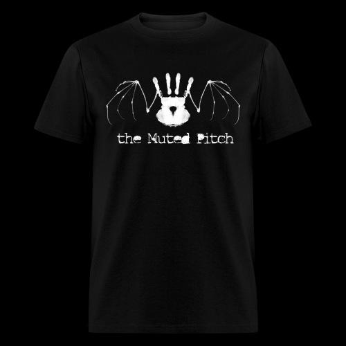 Death Bat BW White png - Men's T-Shirt
