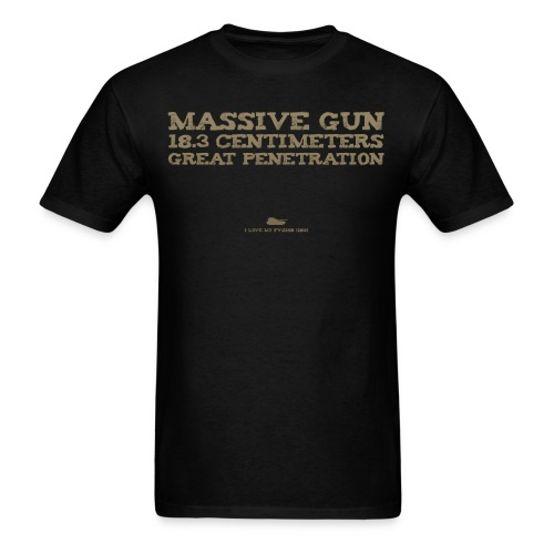 Massive Gun - Men's T-Shirt