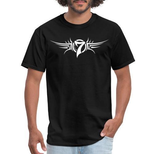 MayheM-7 Tattoo Logo White - Men's T-Shirt