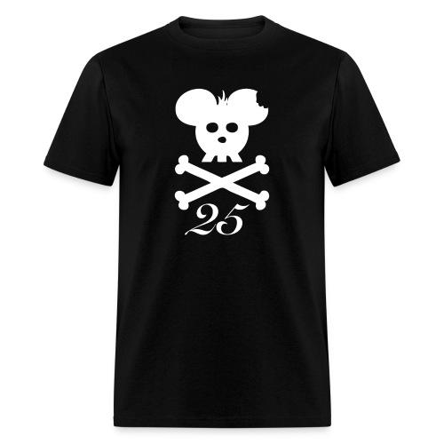 25logo white front - Men's T-Shirt