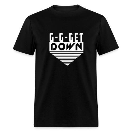 Ginger Beats get down white resize png - Men's T-Shirt
