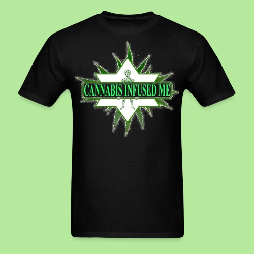 cannabis infused me - Men's T-Shirt