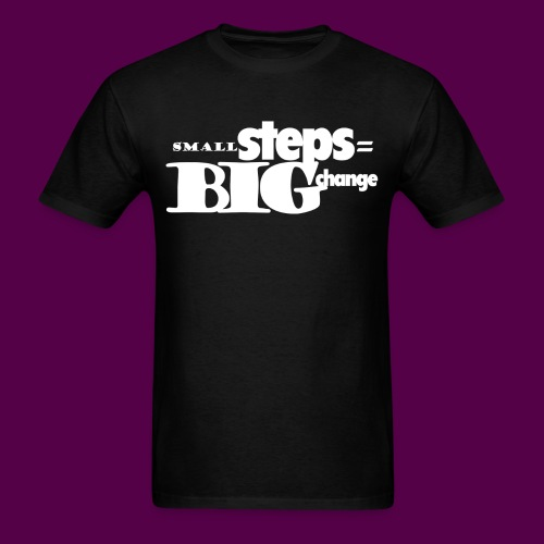 small_big_tshirt_front - Men's T-Shirt