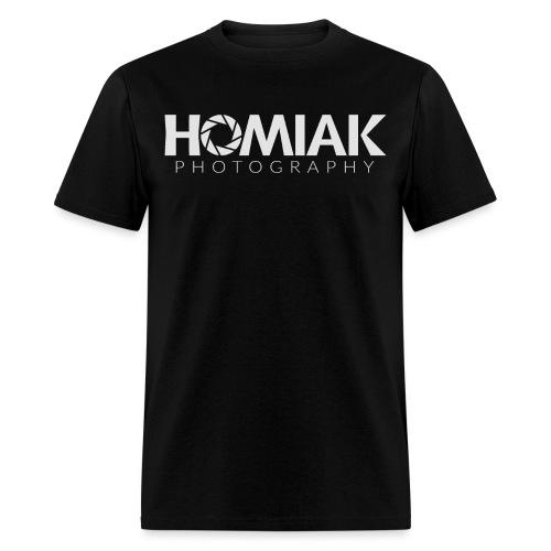 HP_LOGO_2016 (WHITE) - Men's T-Shirt