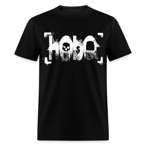 hoboliferenderwhitelarge - Men's T-Shirt