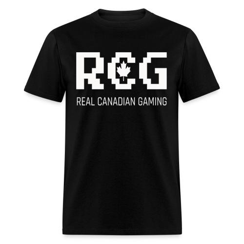 RCG White - Men's T-Shirt