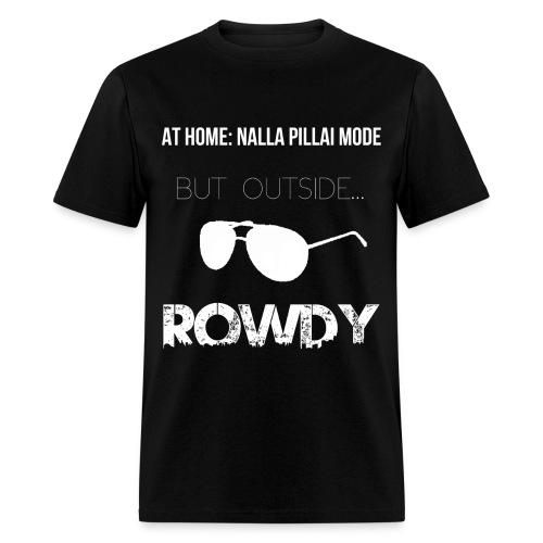 nalla white - Men's T-Shirt