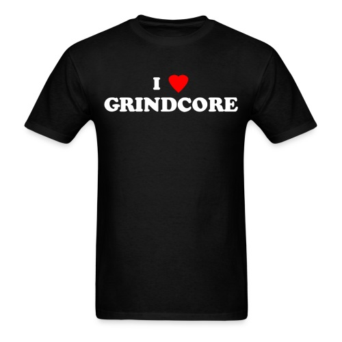 i love grindcore 1 - Men's T-Shirt