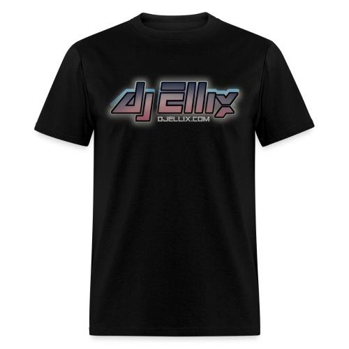 dj Ellix logo - Men's T-Shirt