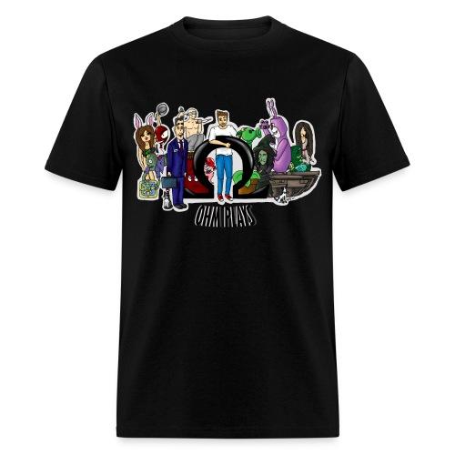 Ohm Shirt Ohm Plays Final Version Title png - Men's T-Shirt